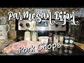 PARMESAN DIJON PORK CHOPS~FOODIE FRIDAYS!