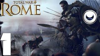 Rome: Total War Прохождение за Карфаген на High - Часть #1[Обучение и Начало Войны с Римом]