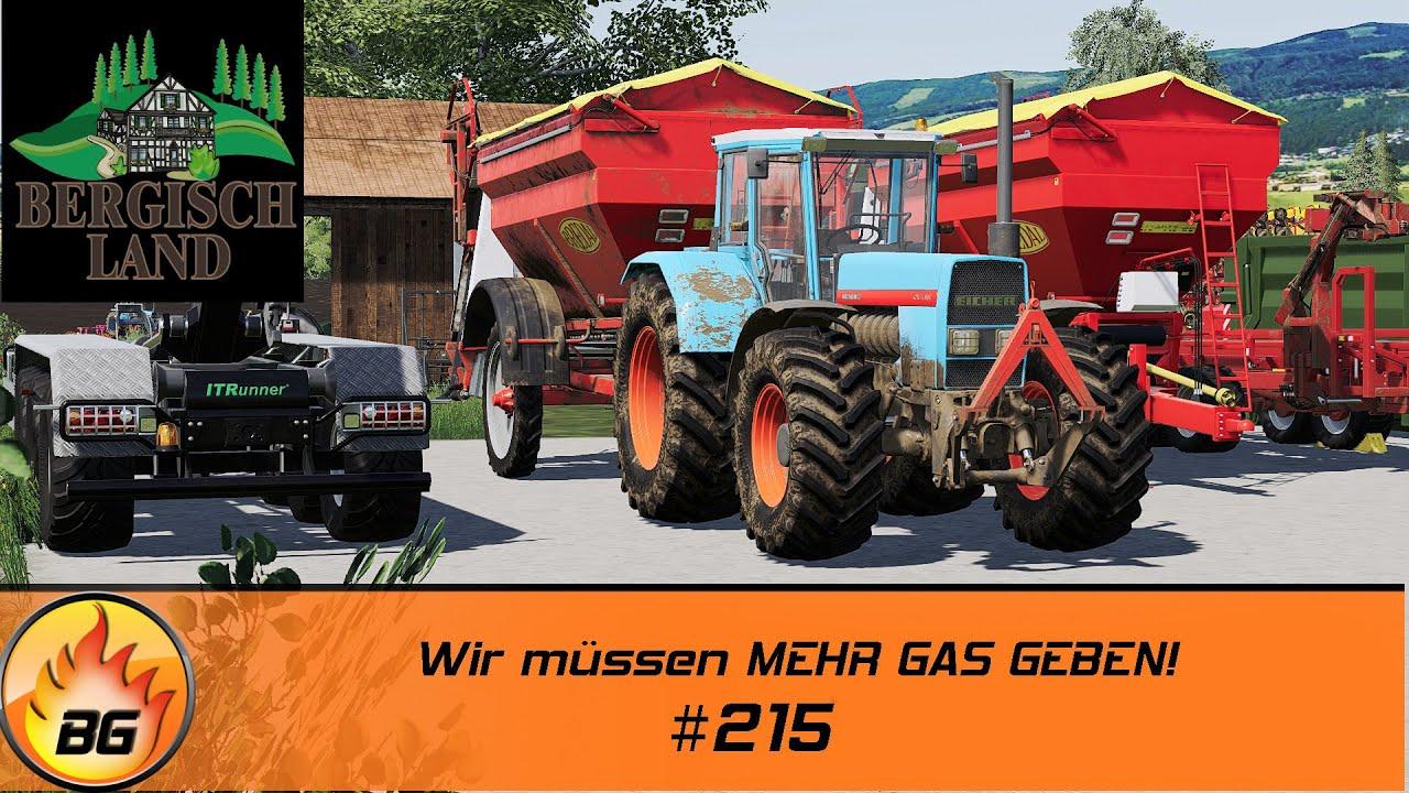 LS19 - Bergisch Land #215 | Wir müssen MEHR GAS GEBEN! | FS19 | Let's Play [HD]