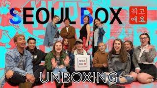 Seoul Box Unboxing | Premium Korean Snack Box!