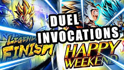INVOCATIONS DRAGON BALL LEGENDS vs LUDIVINE qui fait une DINGUERIE