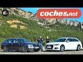 Audi A6 Avant vs BMW Serie 5 Touring | Comparativa | Prueba / Review en español | coches.net
