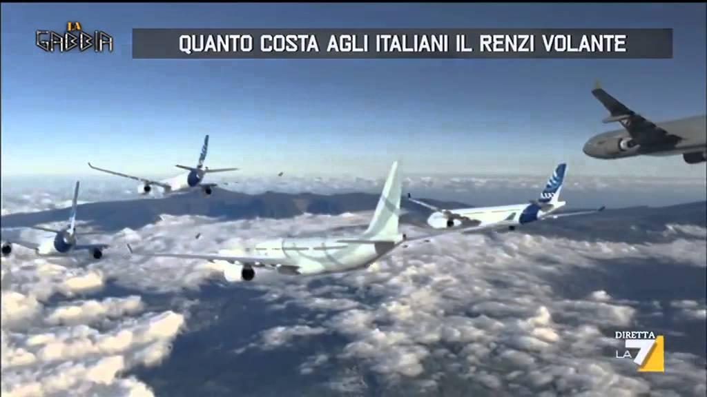 Quanto costa agli italiani il renzi volante youtube for Quanto costa il pex