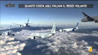 Quanto costa agli italiani il Renzi volante