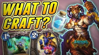 Which Card to Craft/Disenchant from Saviors of Uldum | Hearthstone