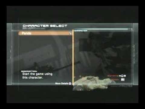 Metal Gear Online Beta Easter Egg