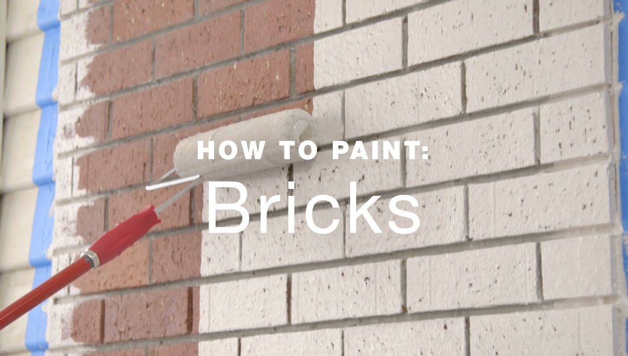 how to paint exterior brick walls youtube. Black Bedroom Furniture Sets. Home Design Ideas