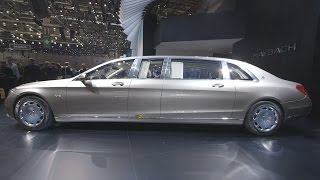 First Look: $1M Armored Mercedes-Maybach Pullman