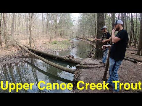 Trout Fishing Pennsylvania's Upper Canoe Creek