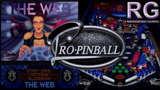 Pro Pinball: The Web - Sega Saturn - Pinball Gameplay [HD 1080p 60fps]