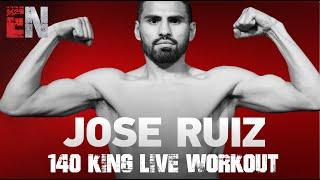 Jose Ramirez 140 king Working Out With Robert Garcia | EsNews Boxing