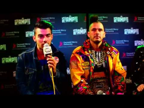 DNCE's Interview with 96.5 Amp Radio