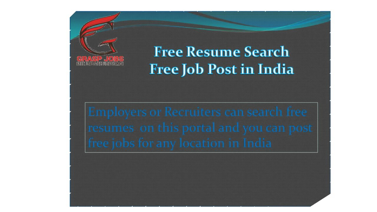 best job opening  u0026 resume posting site in india