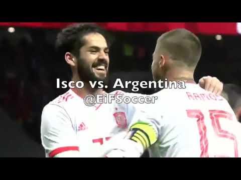 Isko vs Argentina