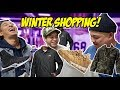 HYPETALK GOES WINTER SHOPPING!