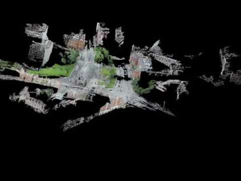 fusion of UAV and LIDAR datasets