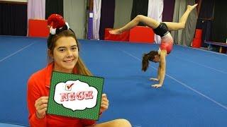Naughty or Nice Gymnastics Game
