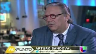 Satcha Pretto entrevista al reconocido músico cubano Arturo Sandoval (Al Punto)