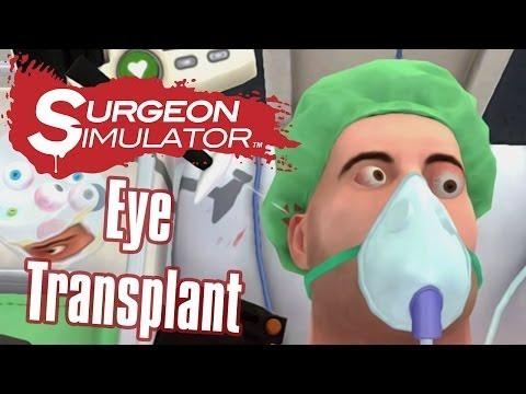 Eye Transplant - Surgeon Simulator Touch (iPad Gameplay)