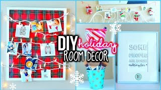 DIY Holiday Room Decorations! + Easy Ways To Organize! | MyLifeAsEva