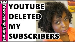 URGENT HELP!! YOUTUBE IS DELETING OUR SUBSCRIBERS!!