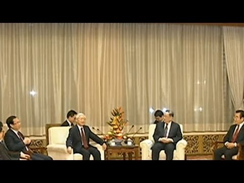 China's top political advisor meets Vietnamese party chief