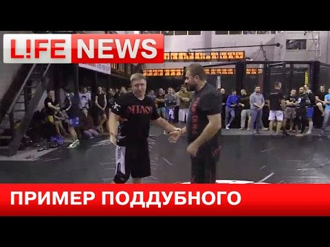 Михаил Пореченков решил продвигать борьбу в России
