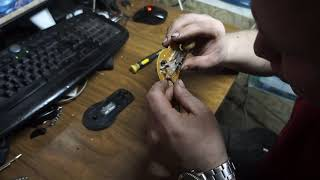 ремонт компьютерной мышки A4TECN X7 модель:X-718F глючит мышку...