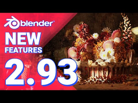 Download New Features in Blender 2.93 LTS in LESS than 5 minutes