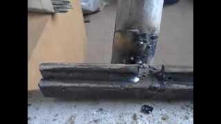 Как варить воротные петли(В этом видео я покажу как приваривать воротные петли., 2015-03-27T16:32:33.000Z)
