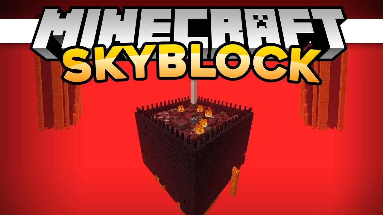 SkyBlock 08 | EPIC NETHER LOOT! • | Minecraft