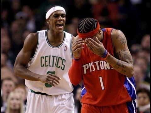new arrival 5f3b4 c96e9 Rajon Rondo vs Allen Iverson 2008/2009 - 18 points, 8 assists - Highlights  vs Detroit Pistons