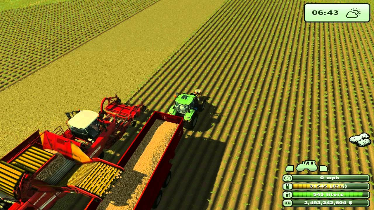 farm simulator 2013 Harvest the huge Kansas map and done with most mods
