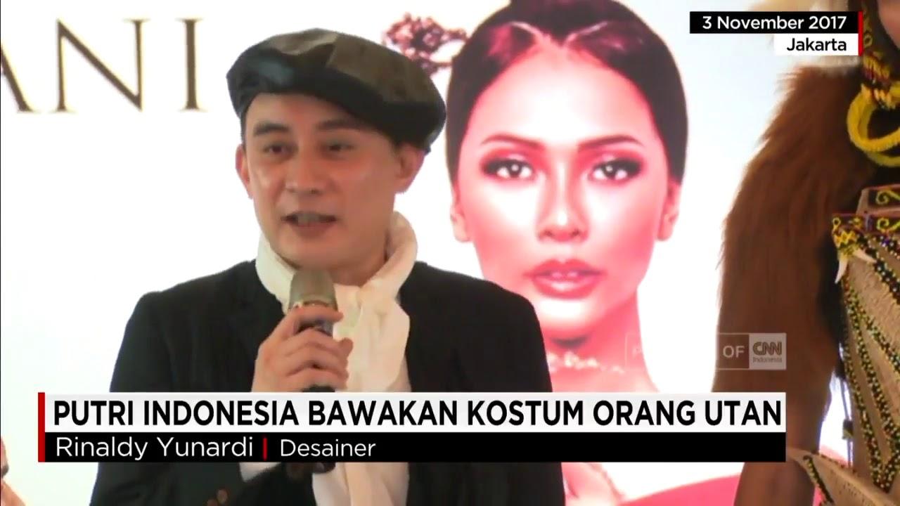 Lucu Banget Putri Indonesia Cantik Ini Bawakan Kostum Orang Utan
