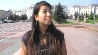 Девушка из Чили рассказывает про г.Улан-Удэ