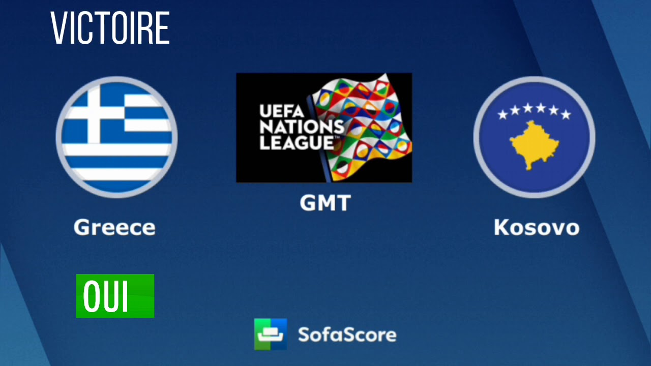 Pronostic Foot Grece Vs Kosovo Uefa Nation League Youtube