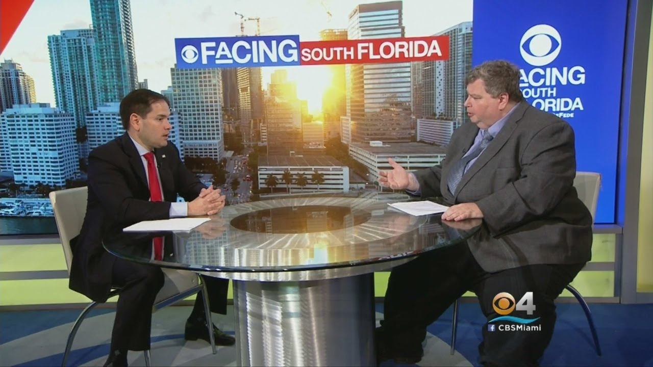 Facing South Florida: Marco Rubio On School Shooting, Gun Control Part II
