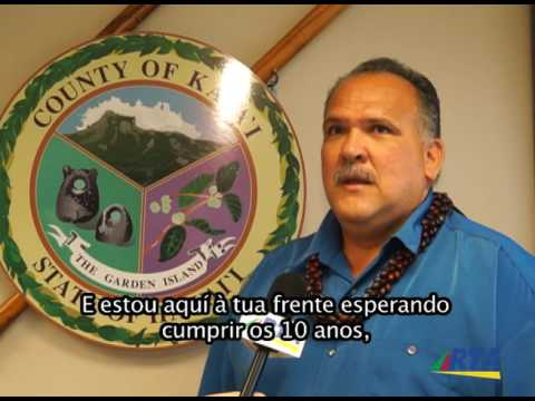 Mayor Bernard Carvalho of Kauai