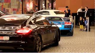 Canon 600D HD Video Sample - Cars at the Mall of the Emirates (Dubai)