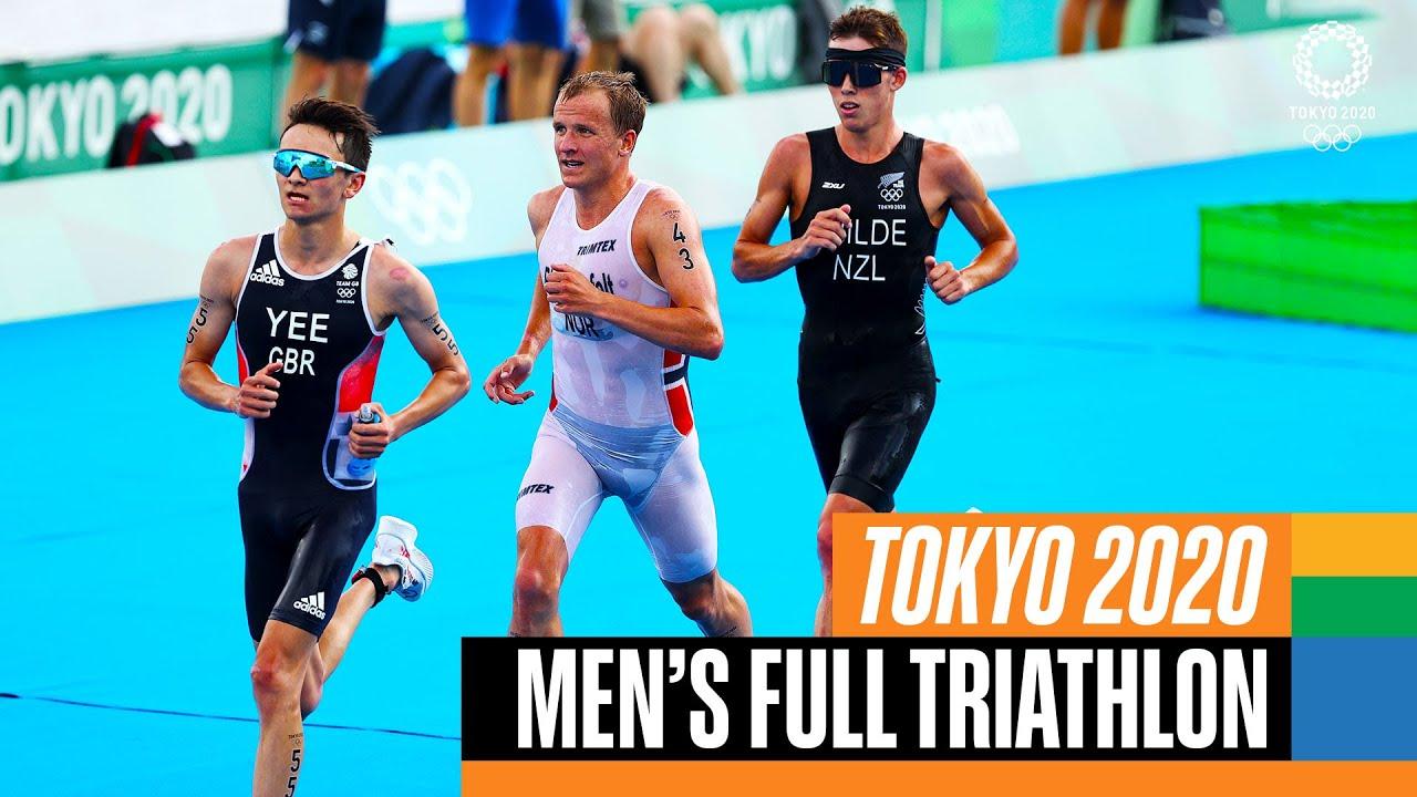Download Men's FULL Triathlon 🏊♂️🚴♂️🏃♂️   Tokyo Replays