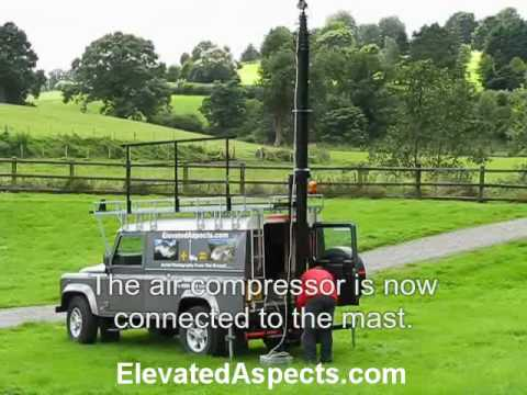 Northern Ireland Aerial Photography Using A Mast Instead Of Aircraft