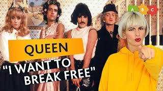 Разбираем клип и песню Queen — I Want to Break Free | Puzzle English