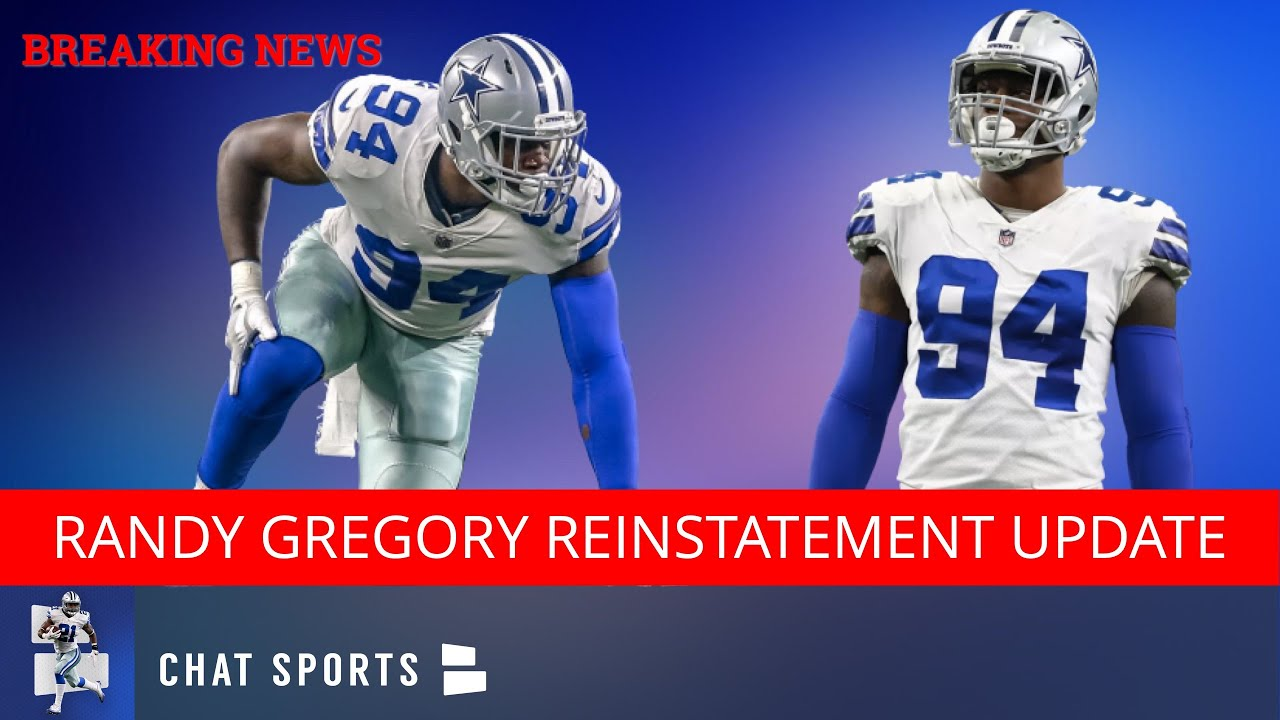 Dallas Cowboys Rumors: Team 'All But Given Up Hope' For Randy Gregory Reinstatement