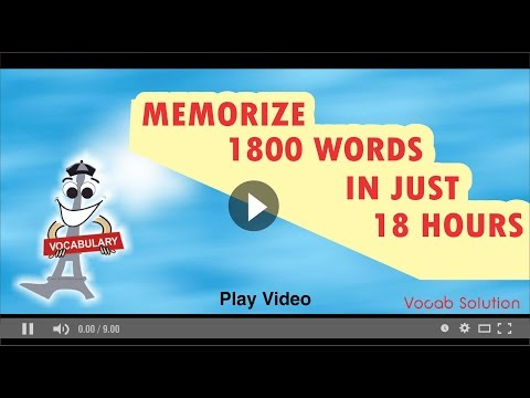 gre barrons word list playlist memorize 1800 words in just 18 hours