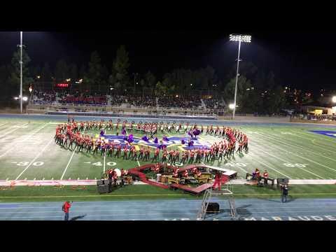 MCHS Mt  Carmel Marching Band at Mira Mesa Tournament 11 4 17