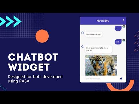 Chatbot Widget Designed For Rasa Bots 🤖