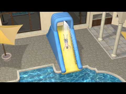 Toys r us outdoor inflatable water slides