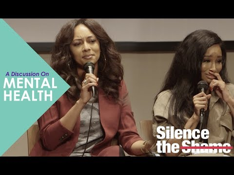 SILENCE THE SHAME:  A PANEL ON DEPRESSION AND MENTAL HEALTH