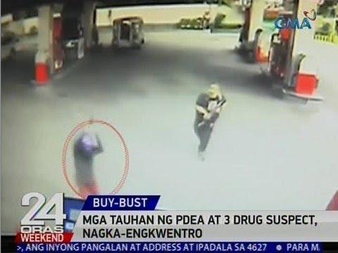 24 Oras: Mga tauhan ng PDEA at 3 drug suspect, nagka-engkwentro sa Pasig