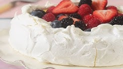 Pavlova Recipe Demonstration - Joyofbaking.com